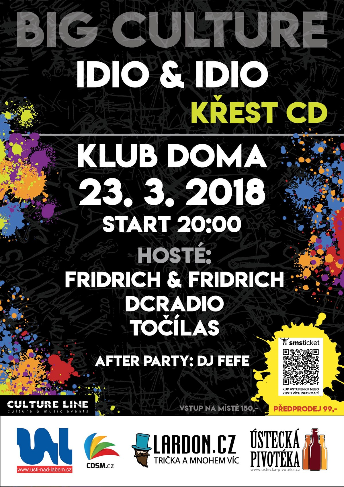 Big Culture IDIO & IDIO křest CD