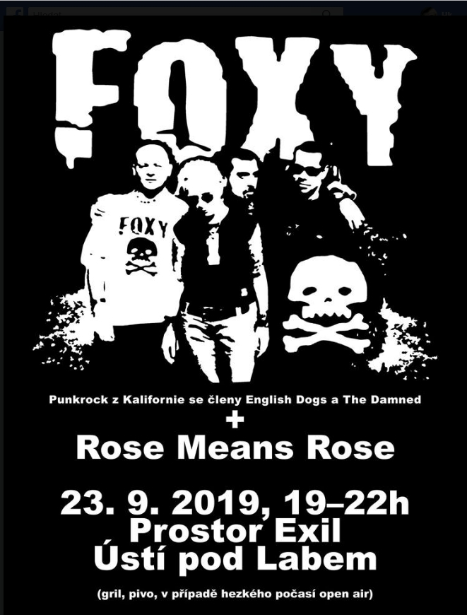 FOXY [USA] a Rose Means Rose v Exilu
